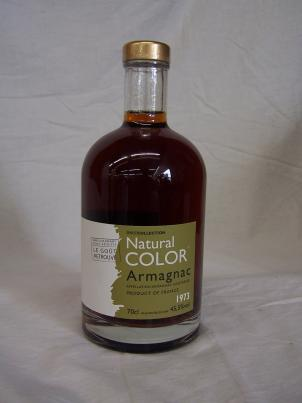 Natural Color Armagnac