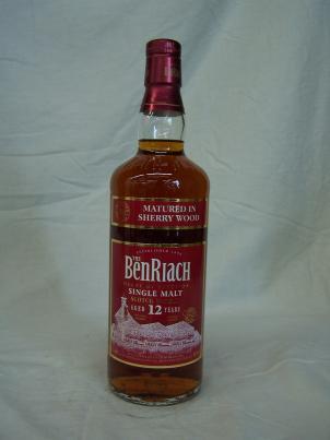 Benriach Sherry 12 ans
