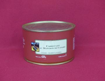 Cassoulet au manchon de canard