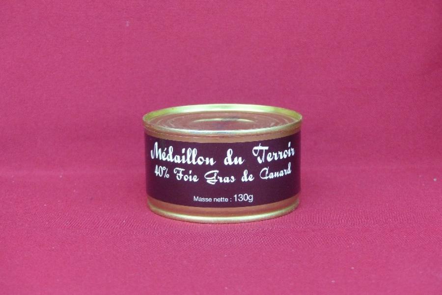 Médaillon du terroir au foie gras de canard
